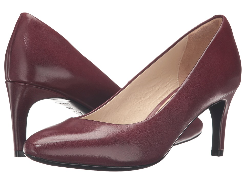 Cole Haan Grace Grand Pump 65MM (Tawny Port Leather) Women