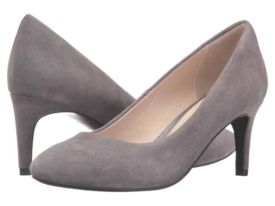 Cole Haan - Clara Grand Pump 65mm (Stormcloud Suede) Women's Shoes