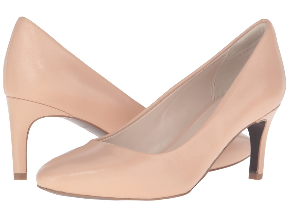 Cole Haan - Clara Grand Pump 65mm (Nude Leather) Women's Shoes