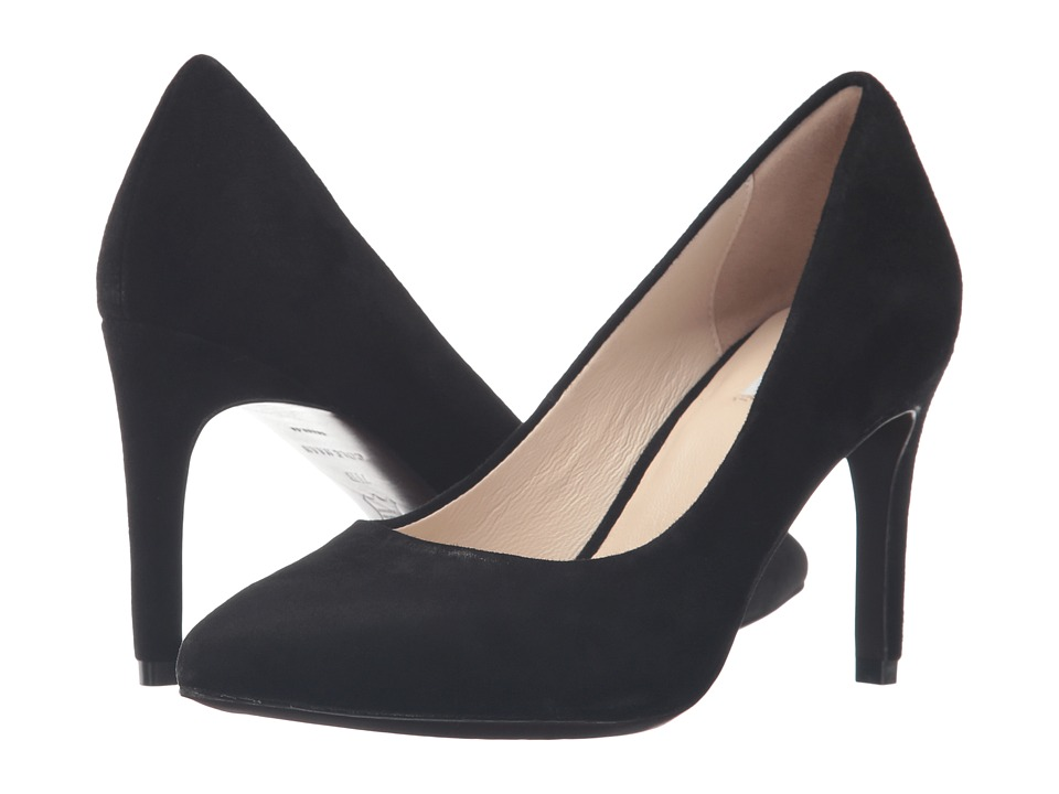 Cole Haan - Eliza Grand Pump 85mm (Black Suede) Women's Shoes