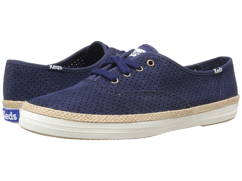 Keds Champ Perf Suede (Navy) Women