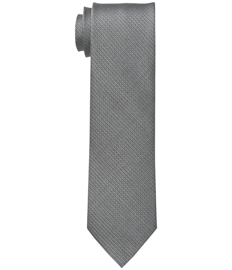 Calvin Klein - Natte Solid (Charcoal) Ties