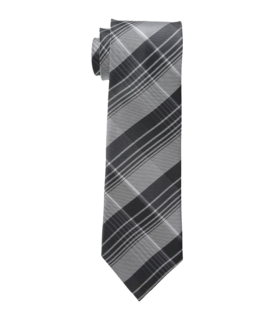 Calvin Klein - Schoolboy Chalk Plaid (Black) Ties