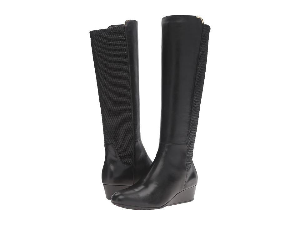 Cole Haan Tali Grand Stretch Boot (Black Leather) Women