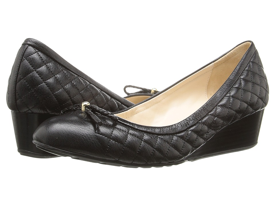 Cole Haan - Tali Grand Quilted 40mm (Black Quilted Leather) Women's Shoes