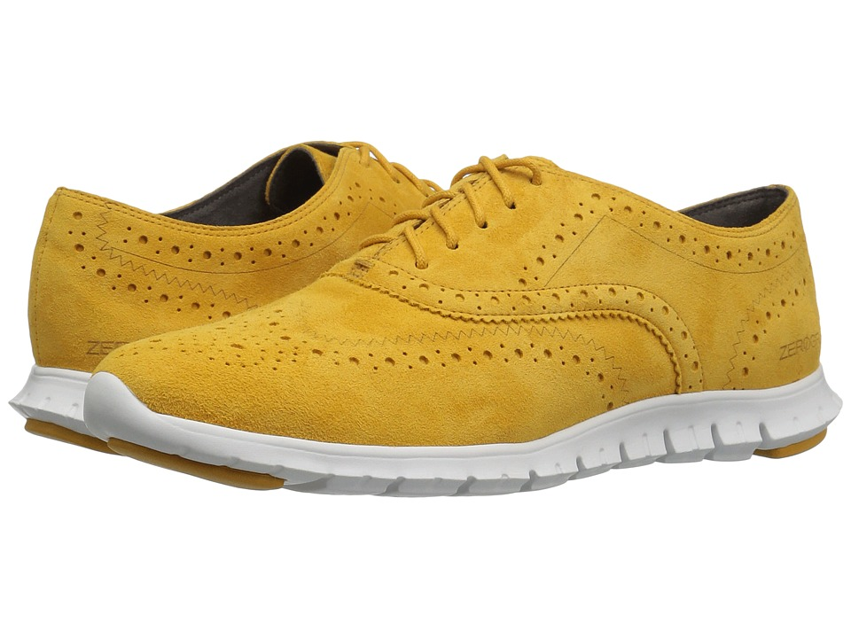 Cole Haan - Zerogrand Wing Oxford (Autumn Gold Suede) Women's Shoes
