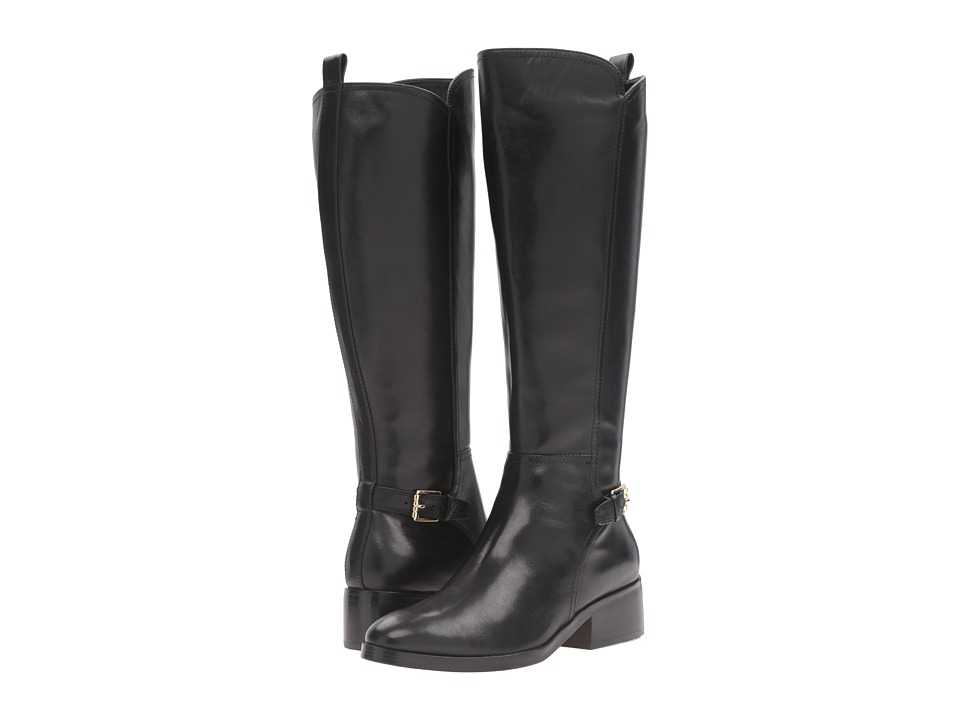 Cole Haan Hayes Tall Boot (Black Leather) Women