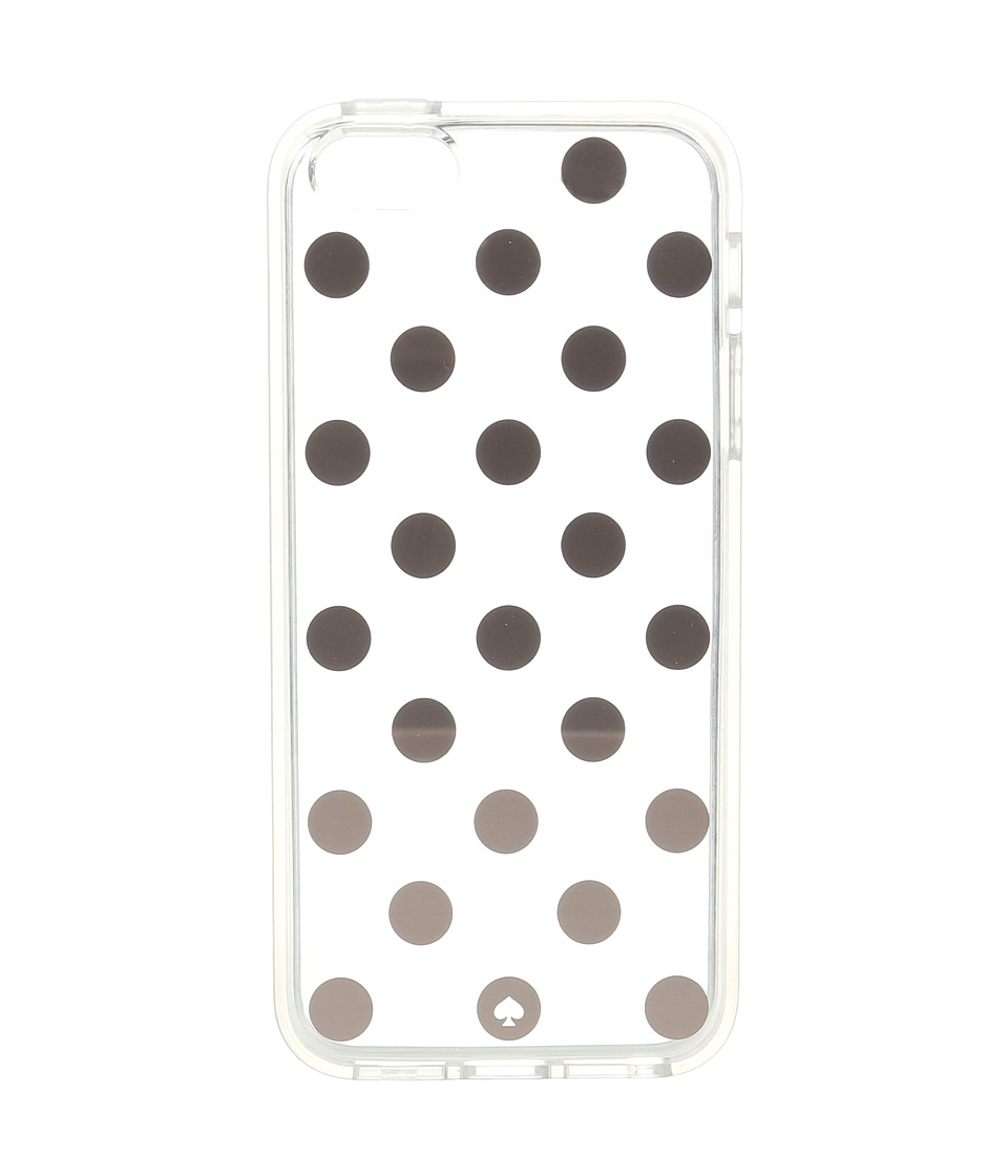 Kate Spade New York - Le Pavillion Dot Clear Phone Case for iPhone 6c (Rose Gold) Cell Phone Case