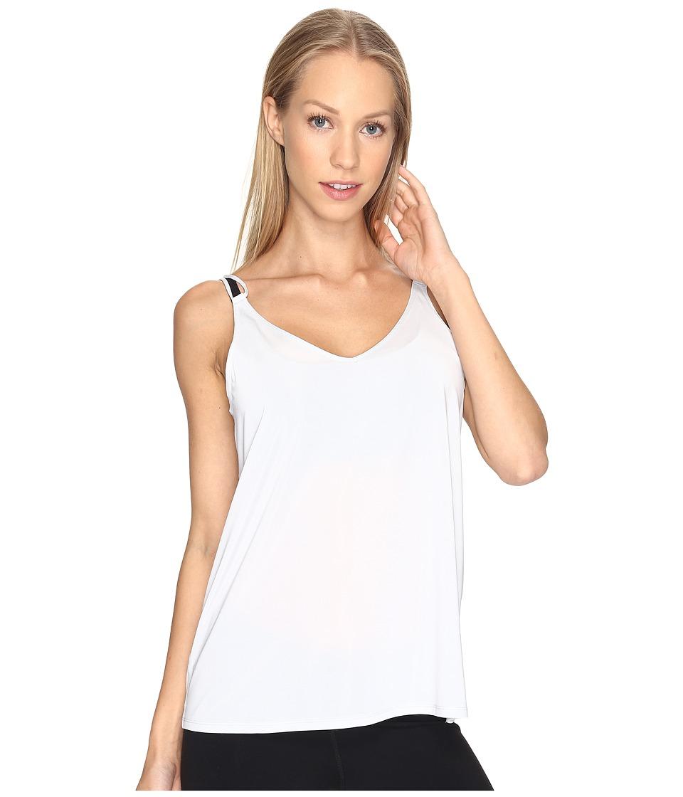 Nike - Dry Strappy Training Tank (Pure Platinum/Heather/Pure Platinum) Women's Sleeveless