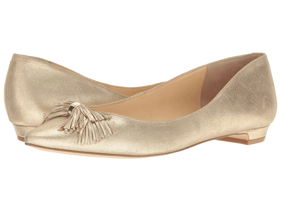 Ivanka Trump Tabithe (Gold Leather) Women