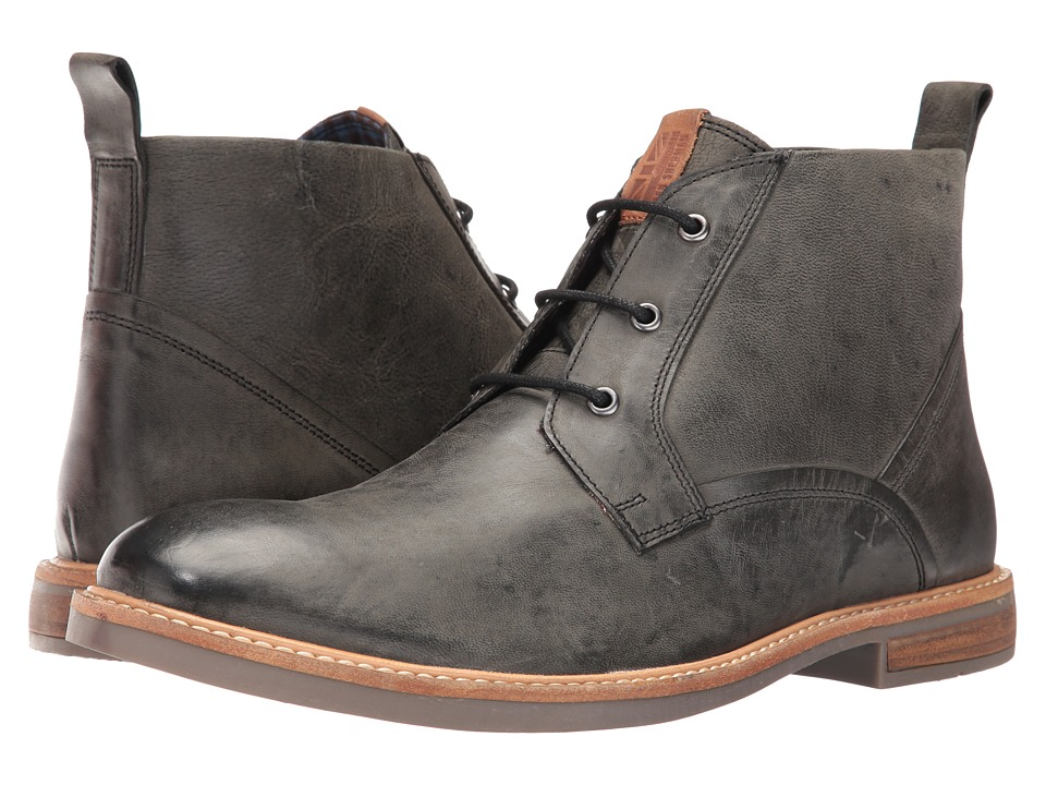 Ben Sherman - Luke Chukka Distressed (Black) Men's Shoes