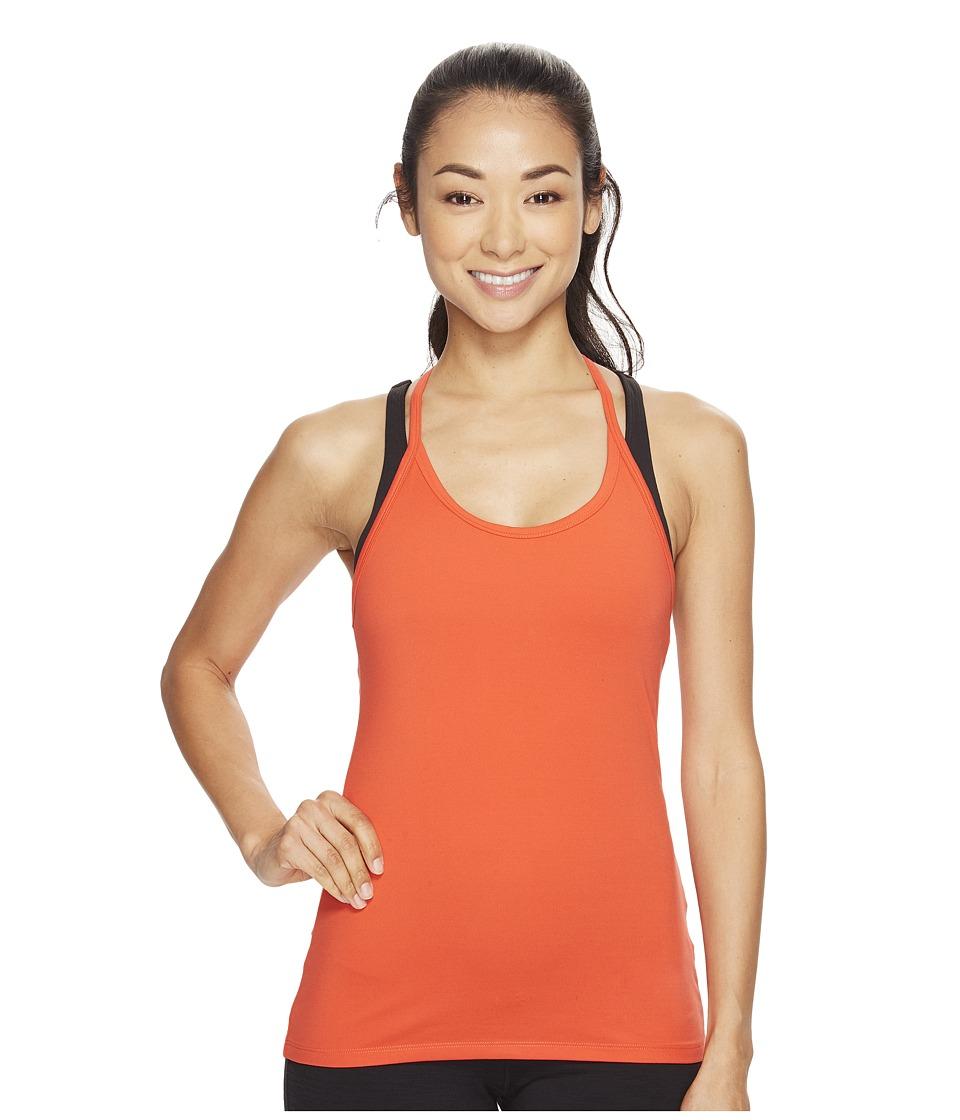 Nike - Dry Slim Training Tank (Max Orange/Max Orange) Women's Sleeveless
