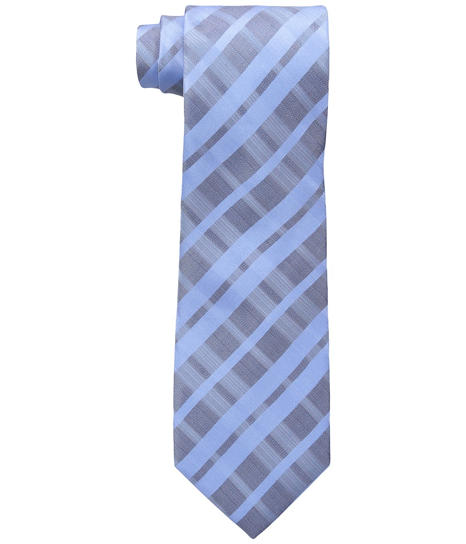 Kenneth Cole Reaction - Prime Grid (Blue) Ties