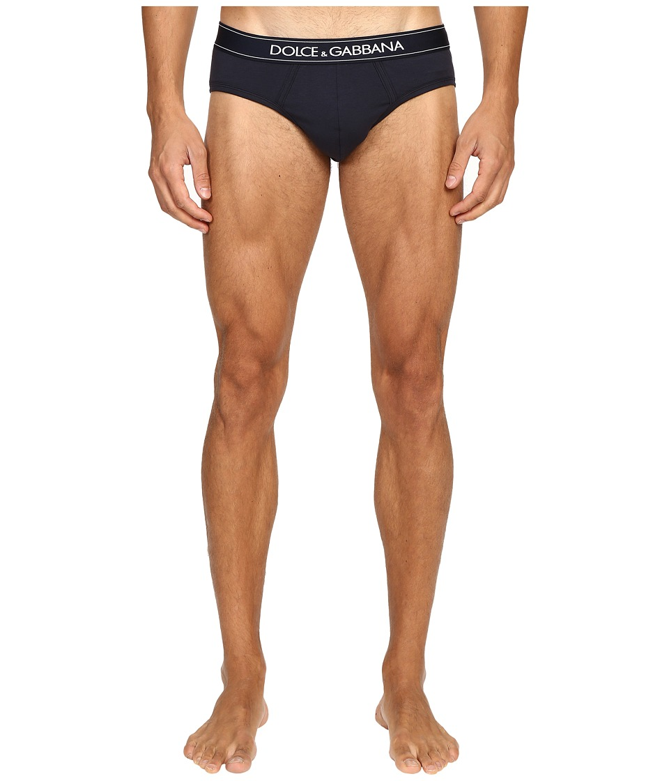 Dolce & Gabbana - Pure Midi Brief (Blue Navy) Men's Underwear