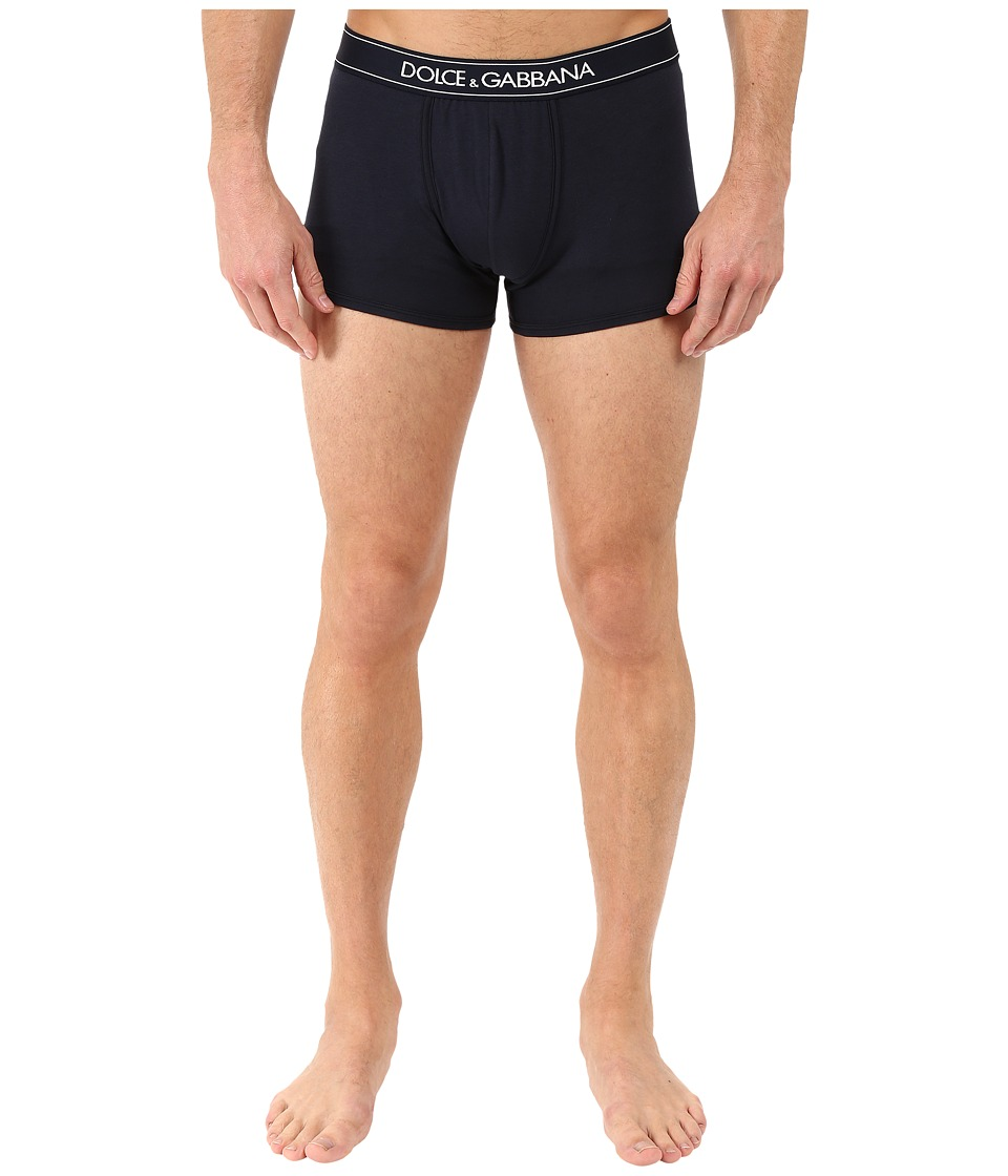 Dolce & Gabbana - Regular Boxer (Blue Navy) Men's Underwear