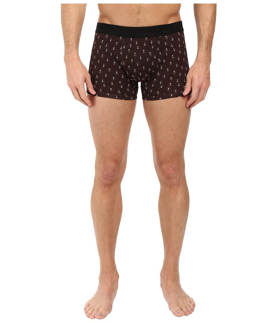 Dolce & Gabbana - Abstract Polka Dots Prints Regular Boxer (Red) Men's Underwear
