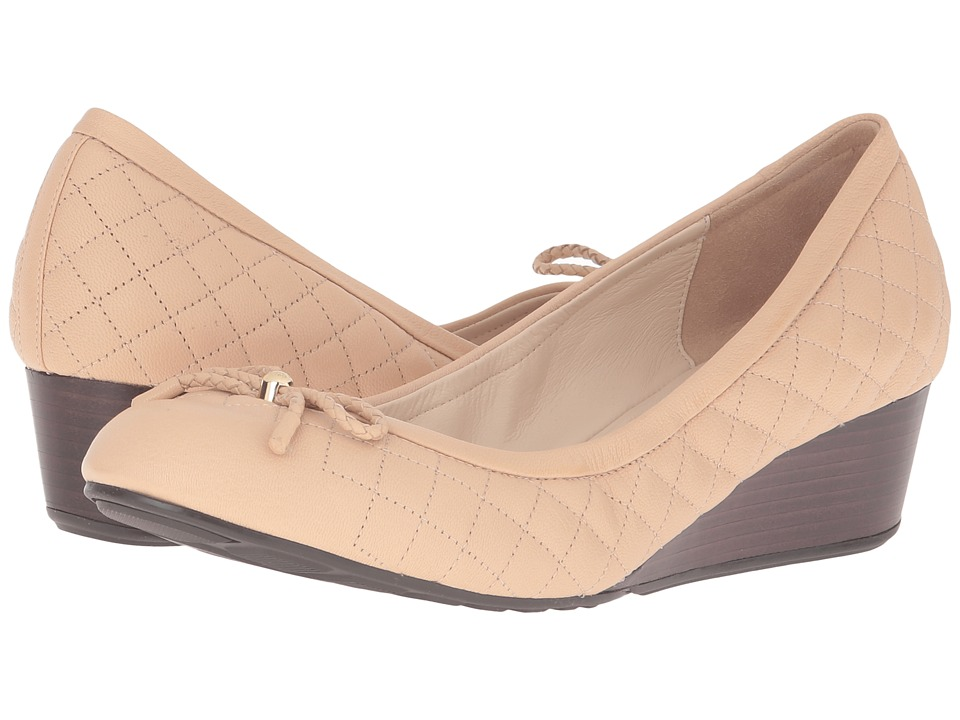 Cole Haan - Tali Grand Quilted 40mm (Nude Quilted Leather) Women's Shoes
