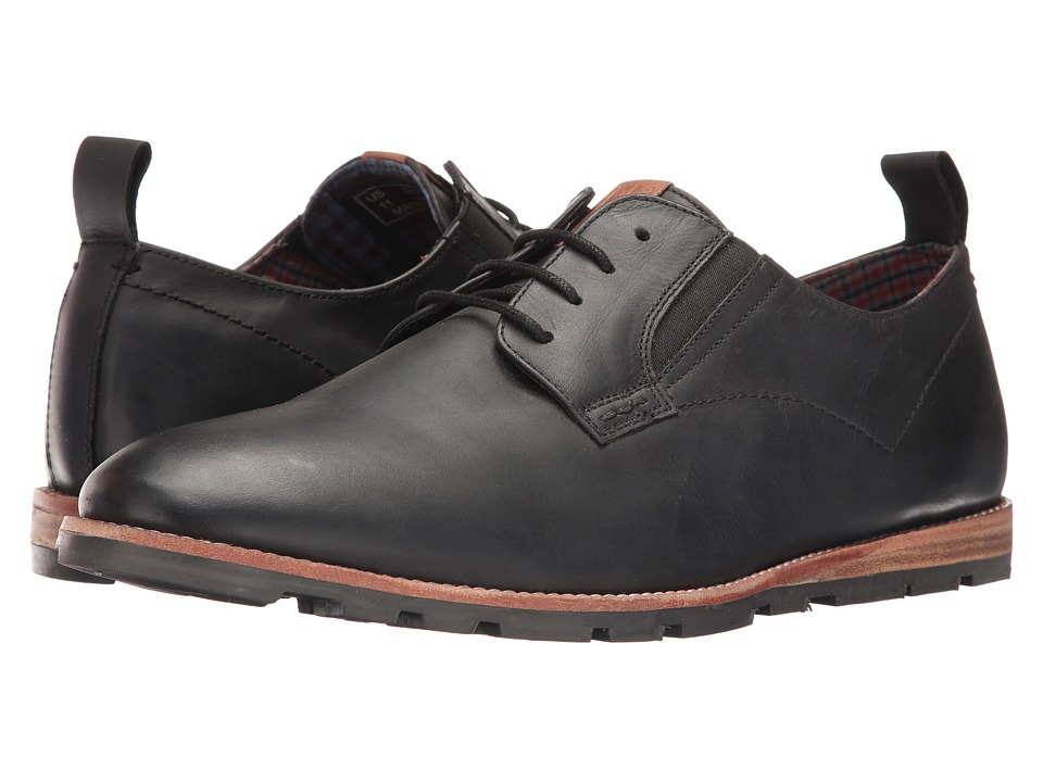 Ben Sherman - Barnett Lug (Black Oiled) Men's Lace up casual Shoes