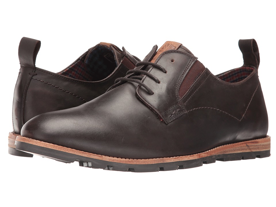 Ben Sherman - Barnett Lug (Brown Oiled) Men's Lace up casual Shoes