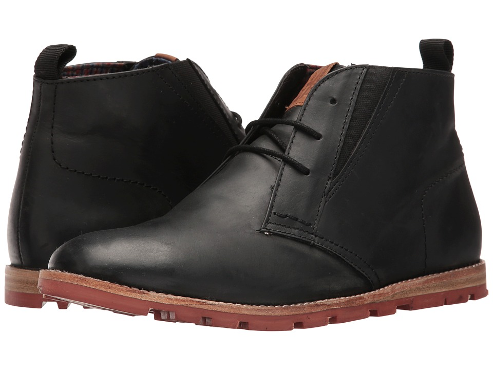 Ben Sherman - Antonio Lug (Black Oiled) Men's Boots