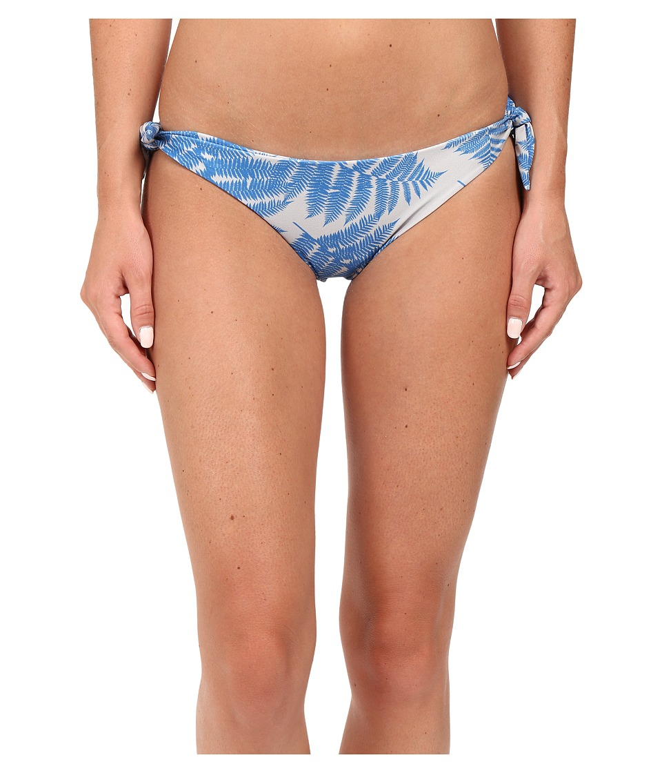 MIKOH SWIMWEAR - Valencia Tie Bottom (Fern Blue Hawaii) Women's Swimwear