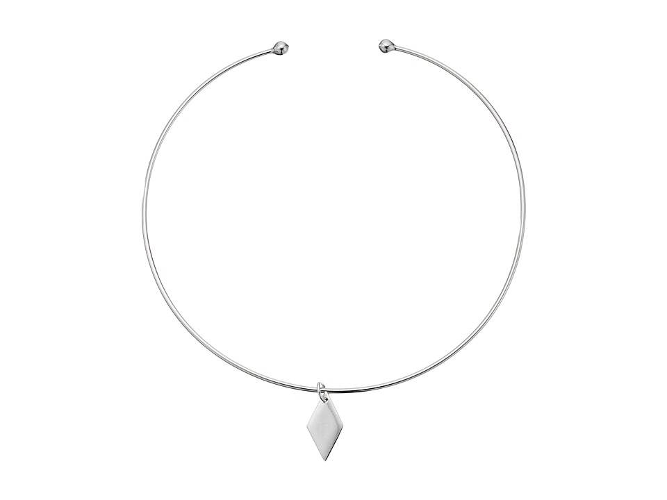 Vanessa Mooney - The Delorean Choker Necklace (Silver) Necklace