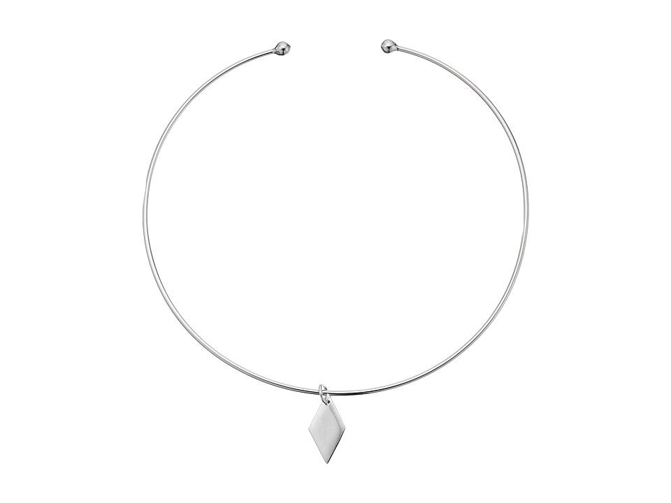 Vanessa Mooney - The Delorean Choker Necklace (Silver) Necklace
