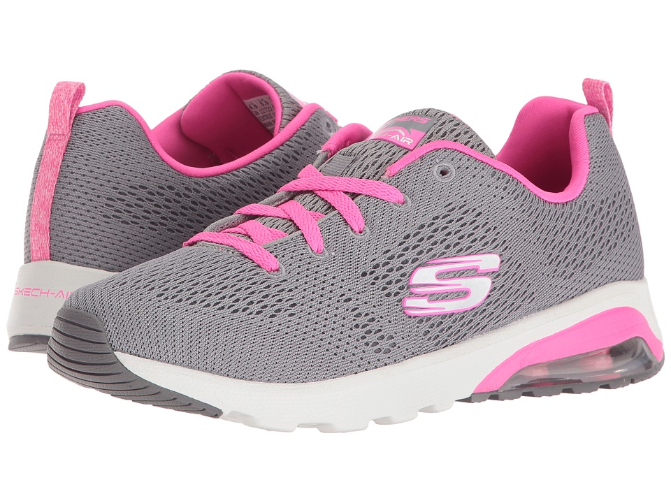 SKECHERS - Skech-Air Extreme - Evolver (Gray/Pink) Women's Shoes