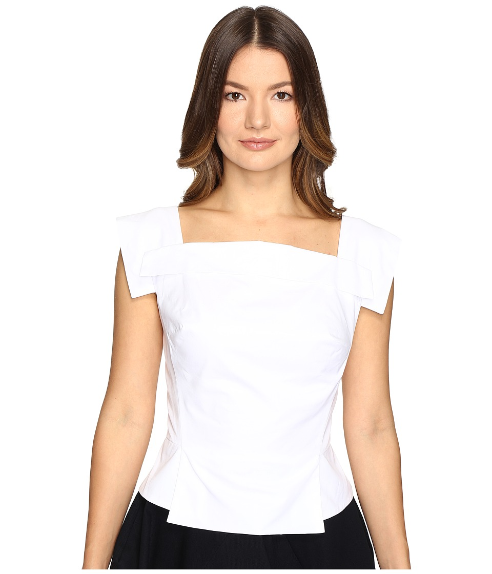 Vivienne Westwood - Bettle Top (Optical White) Women's Clothing