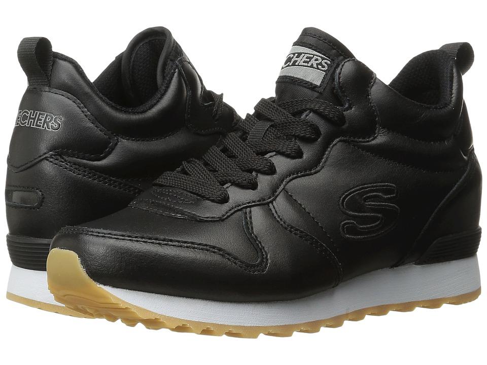 SKECHERS - OG 85 - Street Sneak (Black) Women's Shoes