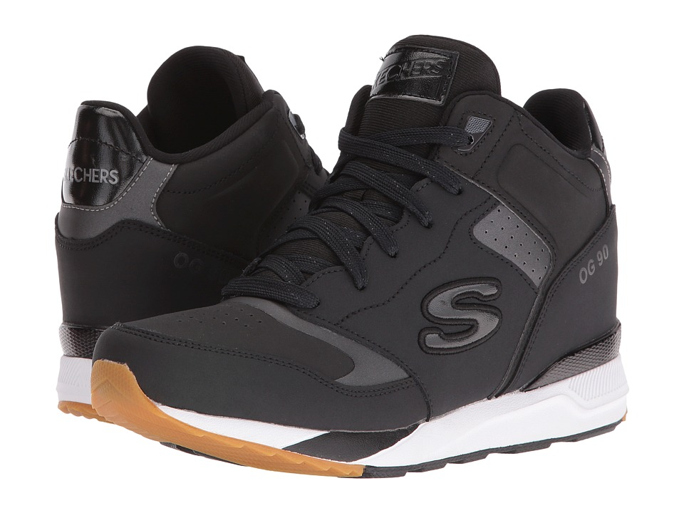 SKECHERS - OG 90 (Black) Women's Shoes