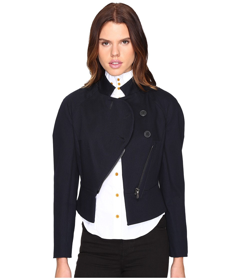Vivienne Westwood - Appetizer Jacket (Navy) Women's Coat
