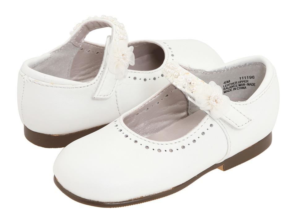 Jumping Jacks Kids - Annalise (Toddler/Little Kid) (White Leather) Girls Shoes