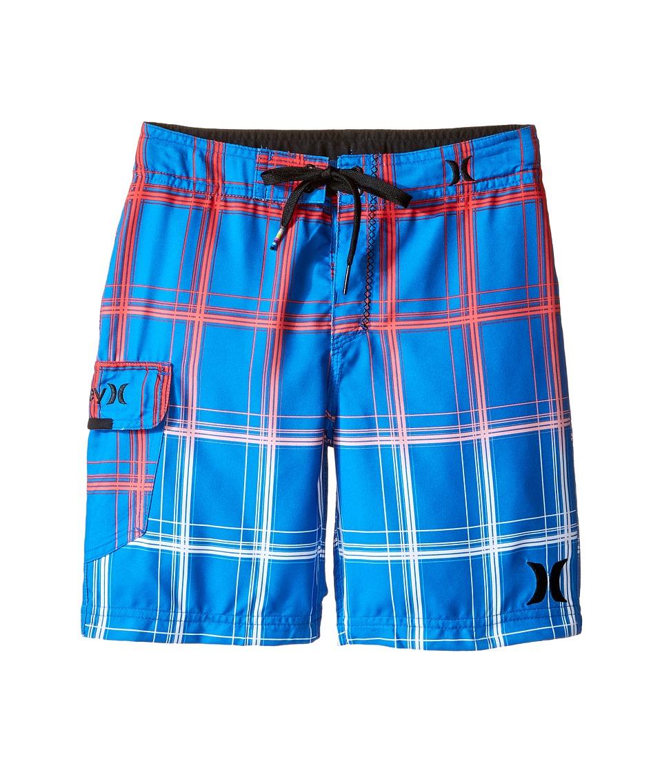 Hurley Kids - Puerto Rico Boardshorts (Little Kids) (Fountain Blue) Boy's Swimwear