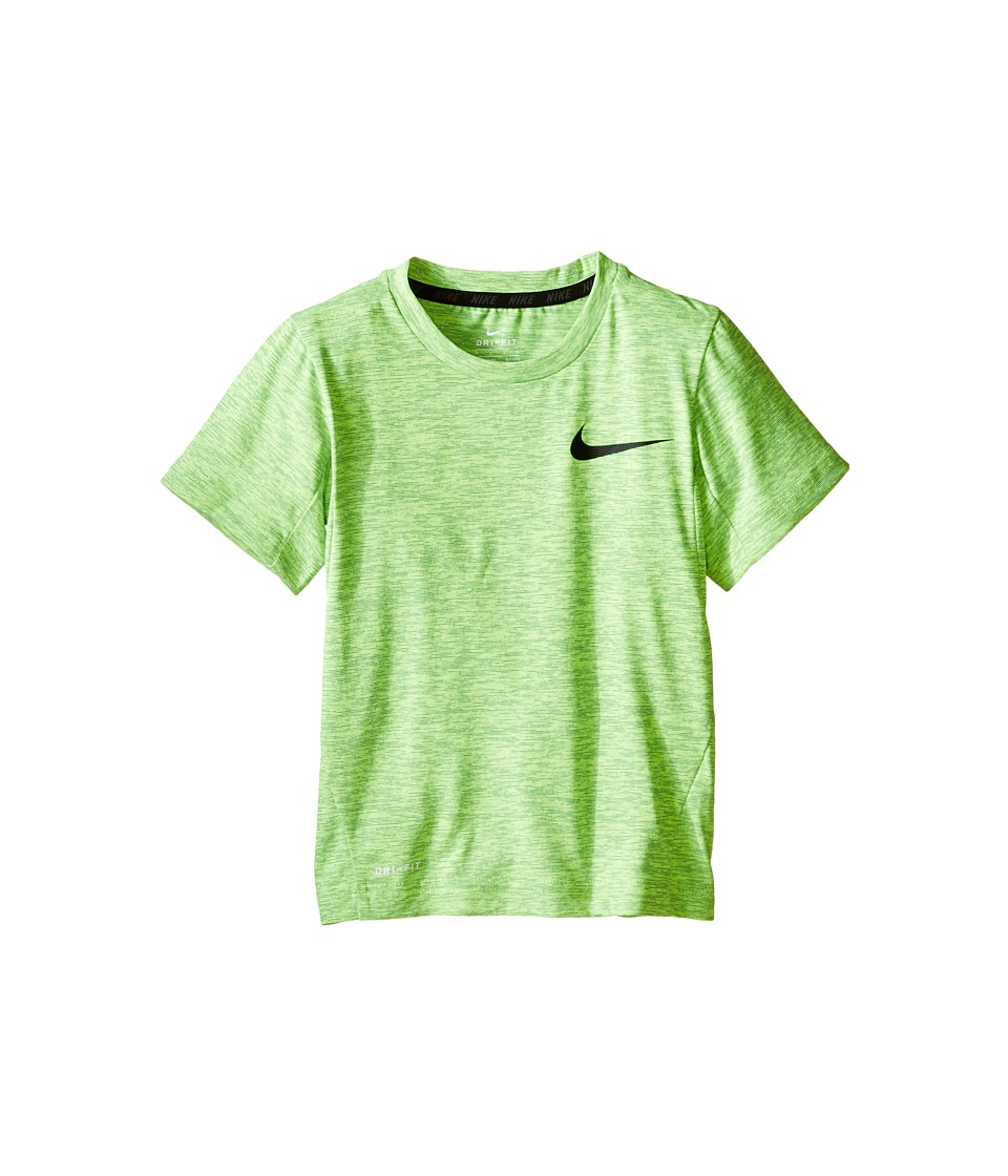 Nike Kids - Dri-FIT Training Short Sleeve Top (Little Kids) (Rio Teal) Boy's Short Sleeve Pullover