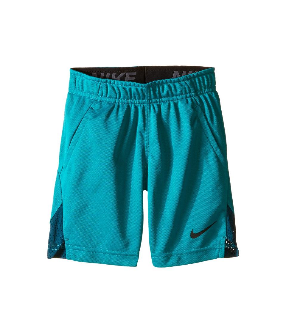 Nike Kids - Hyperspeed Knit Shorts (Toddler) (Rio Teal) Boy's Shorts