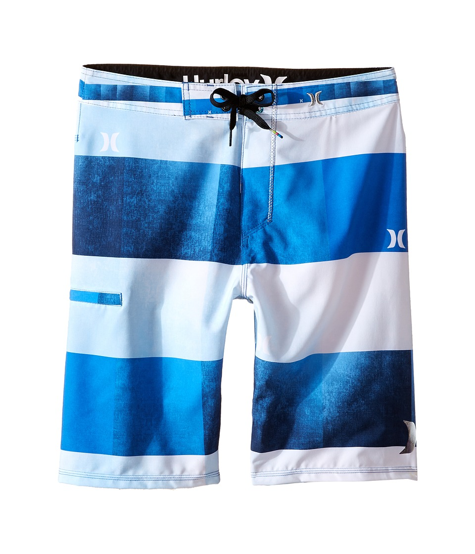 Hurley Kids - Kingsroad Boardshorts (Big Kids) (Fountain Blue) Boy's Swimwear
