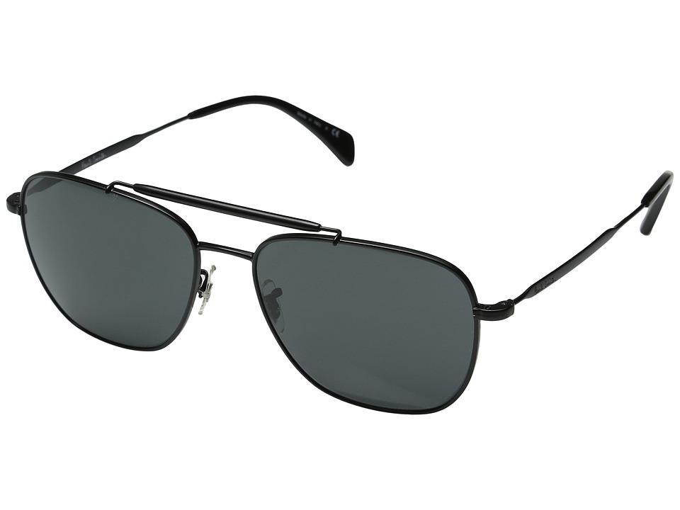 Paul Smith - Roark (Onyx/Matte Onyx/Grey) Fashion Sunglasses