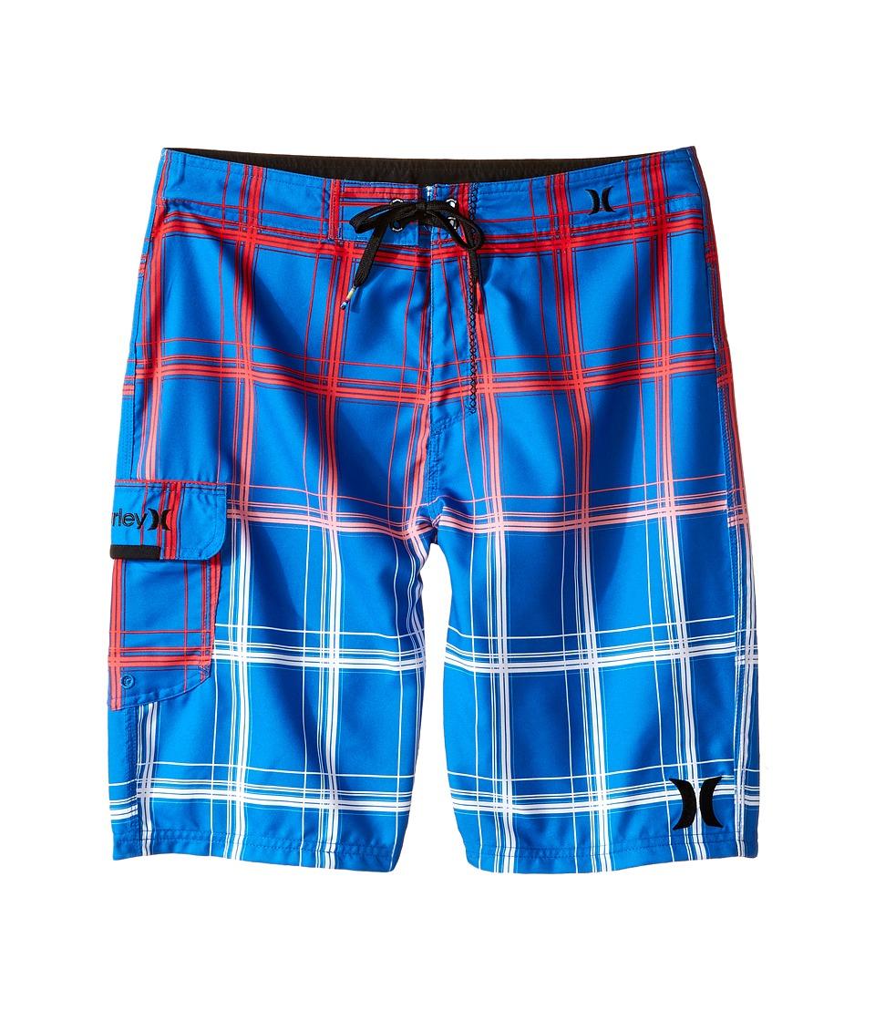 Hurley Kids - Puerto Rico Boardshorts (Big Kids) (Fountain Blue) Boy's Swimwear