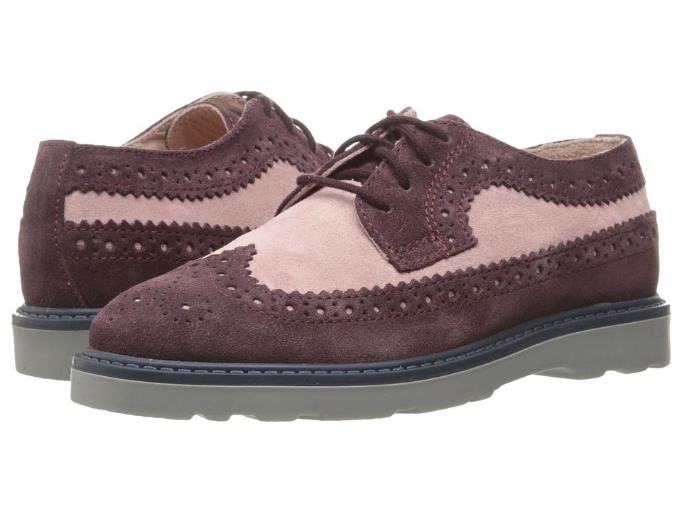 Paul Smith Junior - Derby (Little Kid/Big Kid) (Purple) Girl's Shoes