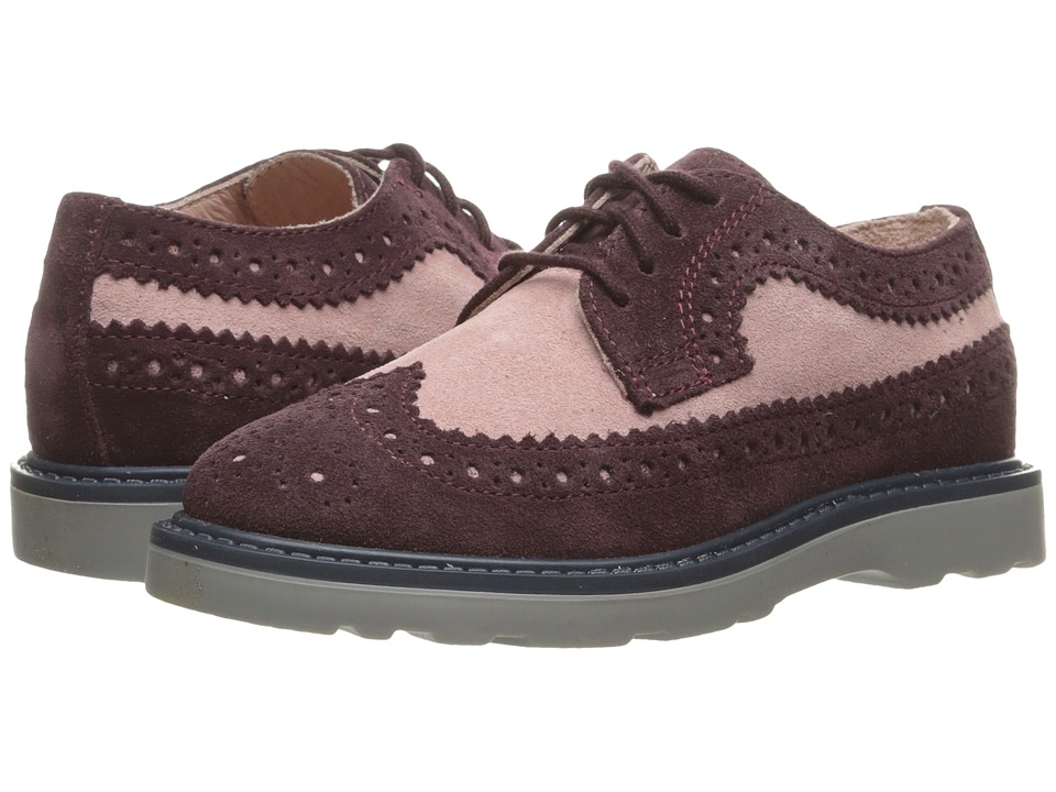 Image of Paul Smith Junior - Derby (Toddler/Little Kid) (Purple) Girl's Shoes