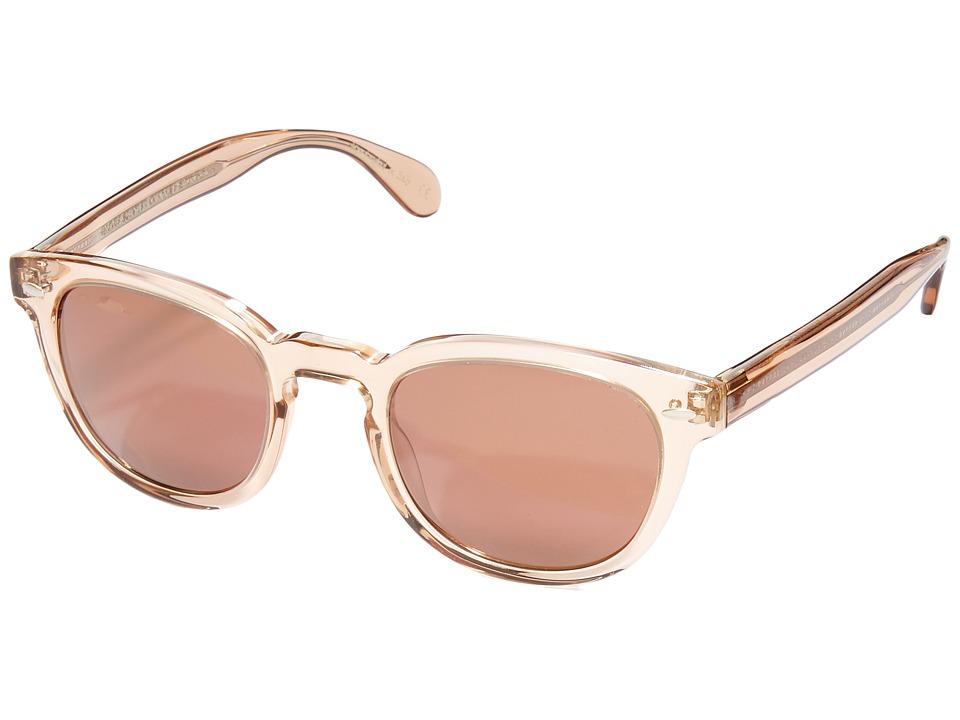 Oliver Peoples - Sheldrake Sun (Blush/Rose Goldtone Vintage) Fashion Sunglasses