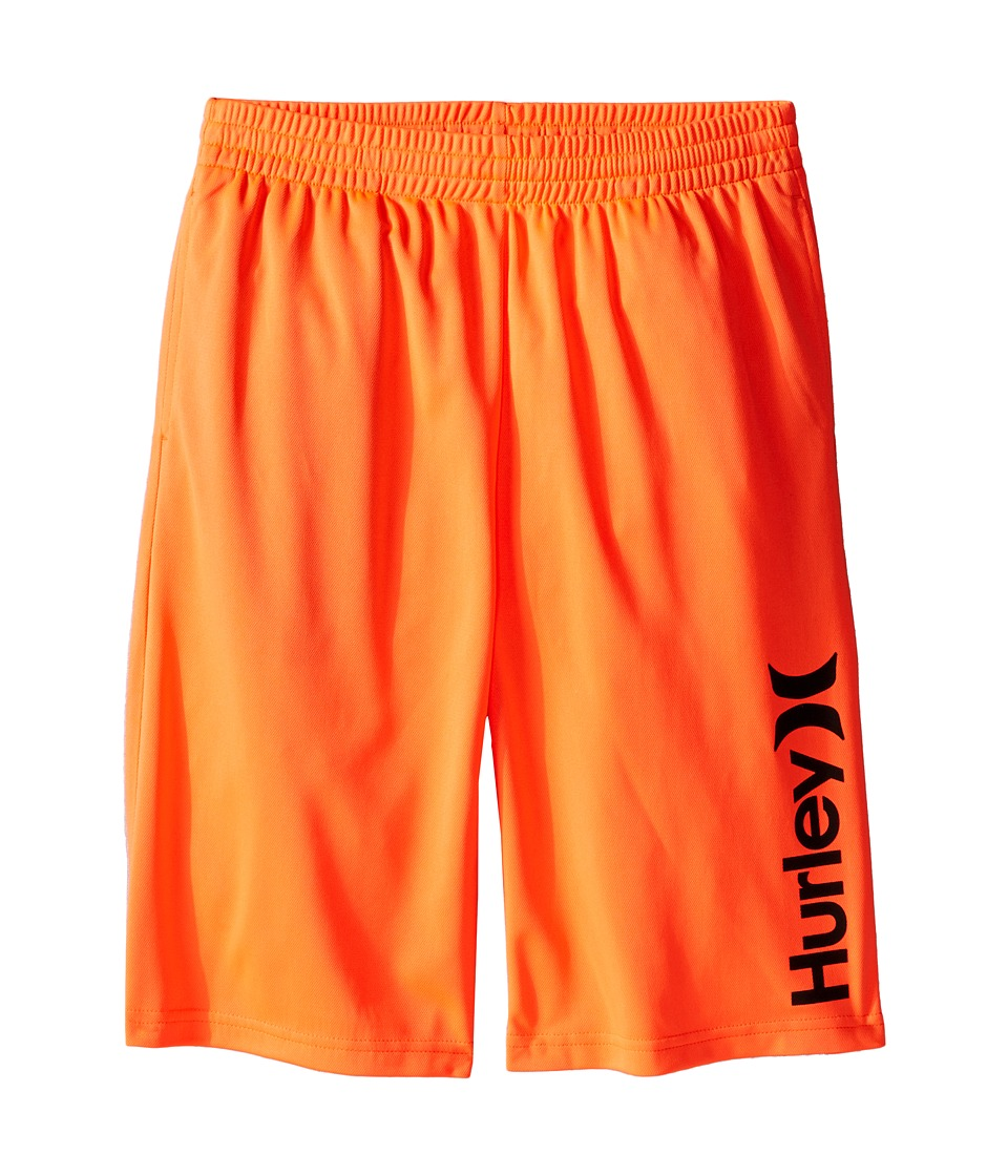 Hurley Kids - One and Only Dri Fit Shorts (Big kids) (Total Crimson) Boy's Shorts