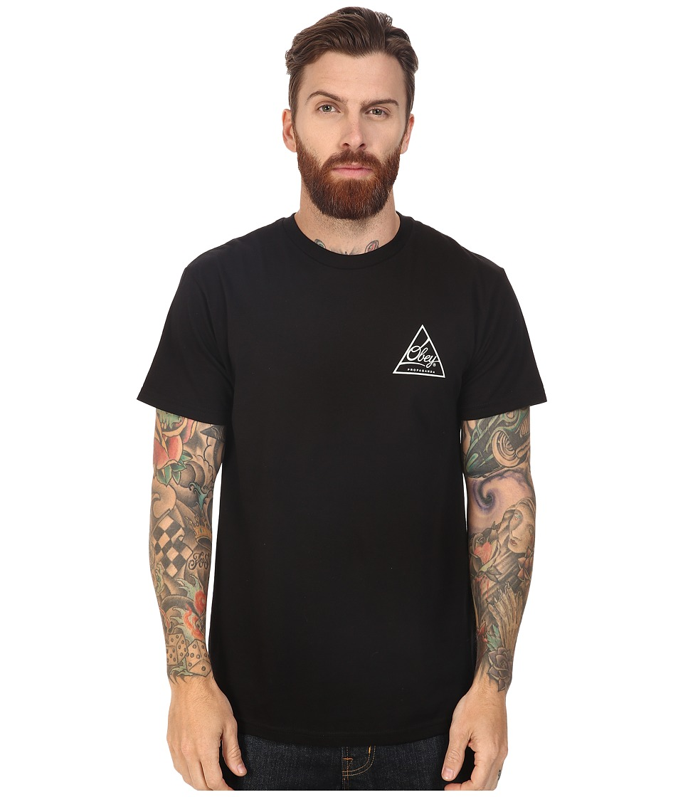 Obey - Next Round 2 (Black) Men's T Shirt