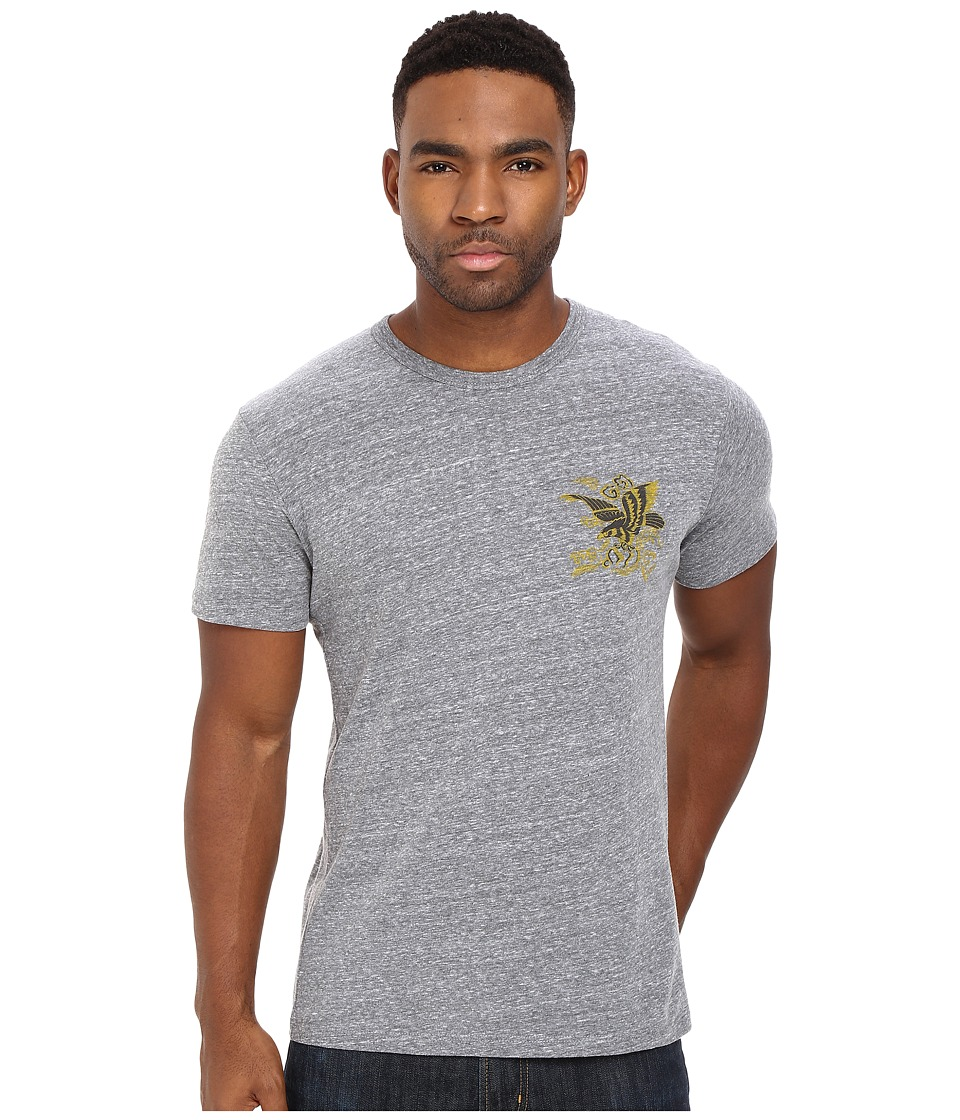 Obey - Eagle Soars (Heather Grey) Men's T Shirt