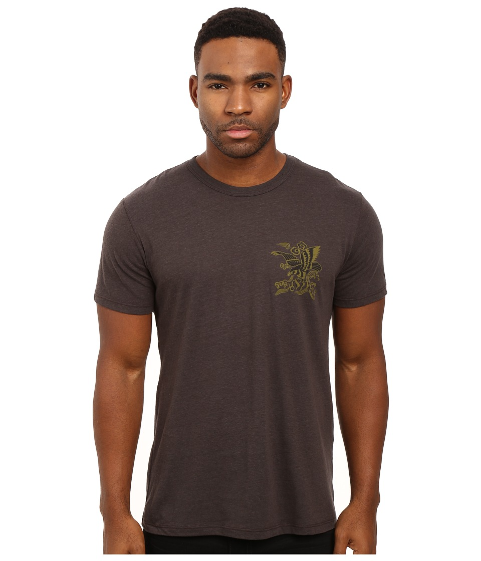 Obey - Eagle Soars (Graphite) Men's T Shirt