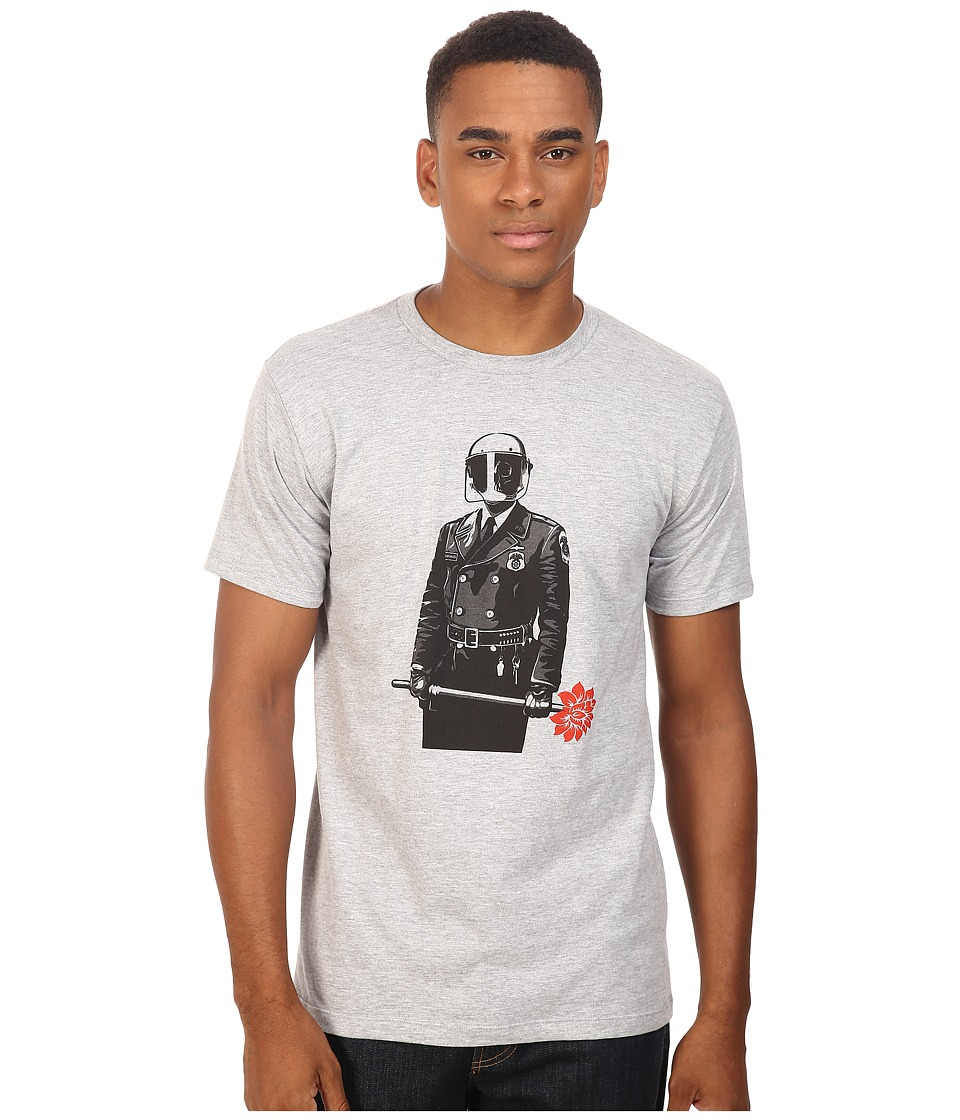 Obey - Sadistic Florist (Heather Grey) Men's T Shirt
