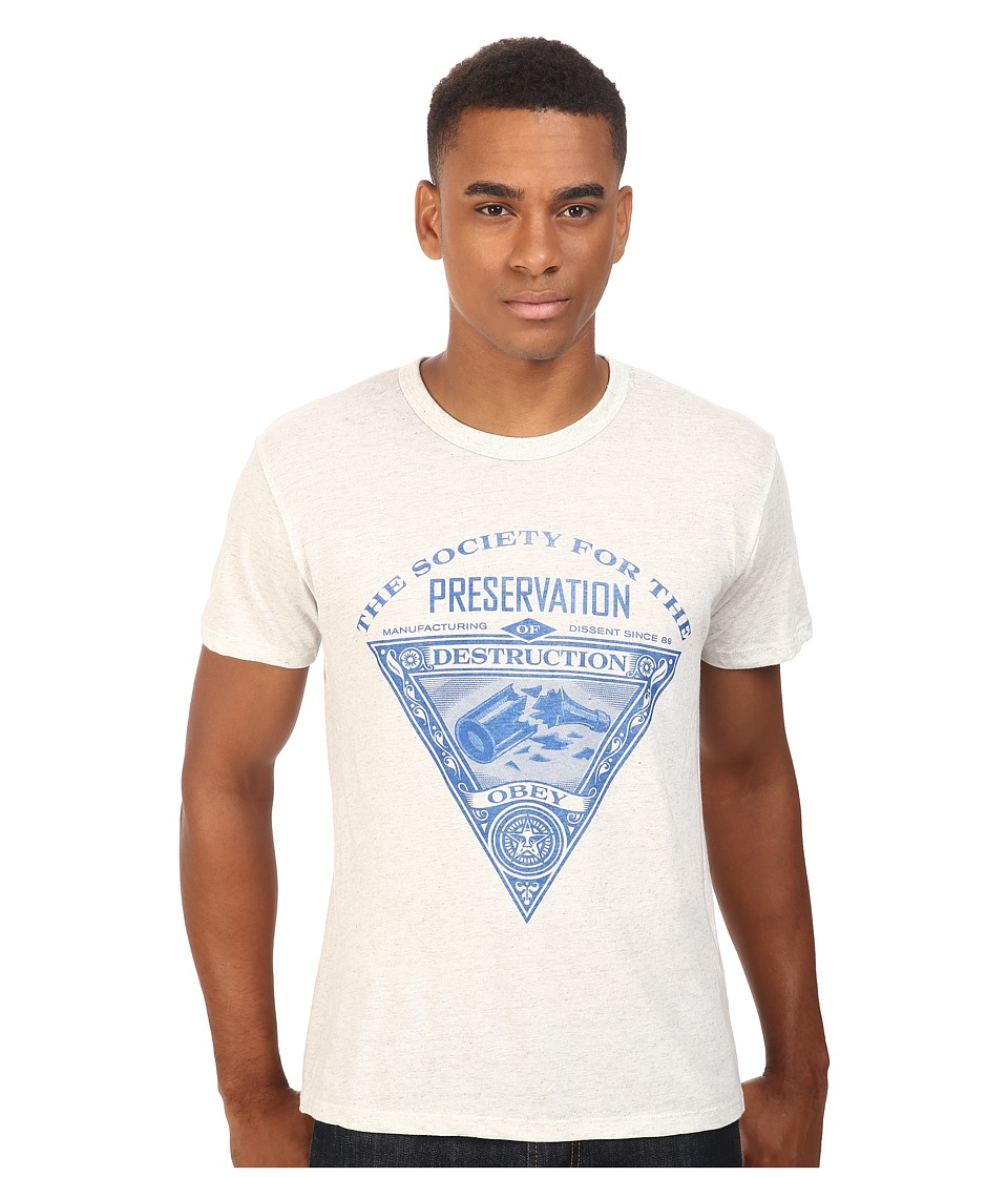 Obey - Society of Destruction (Heather Ash) Men's T Shirt