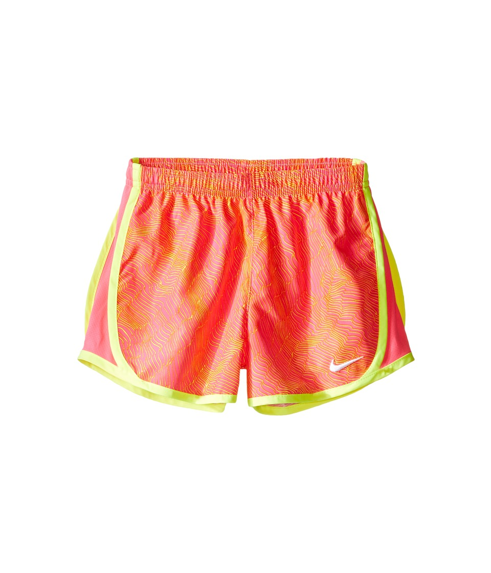 Nike Kids - Tempo Dry Allover Print Short (Little Kids) (Hyper Pink) Girl's Shorts