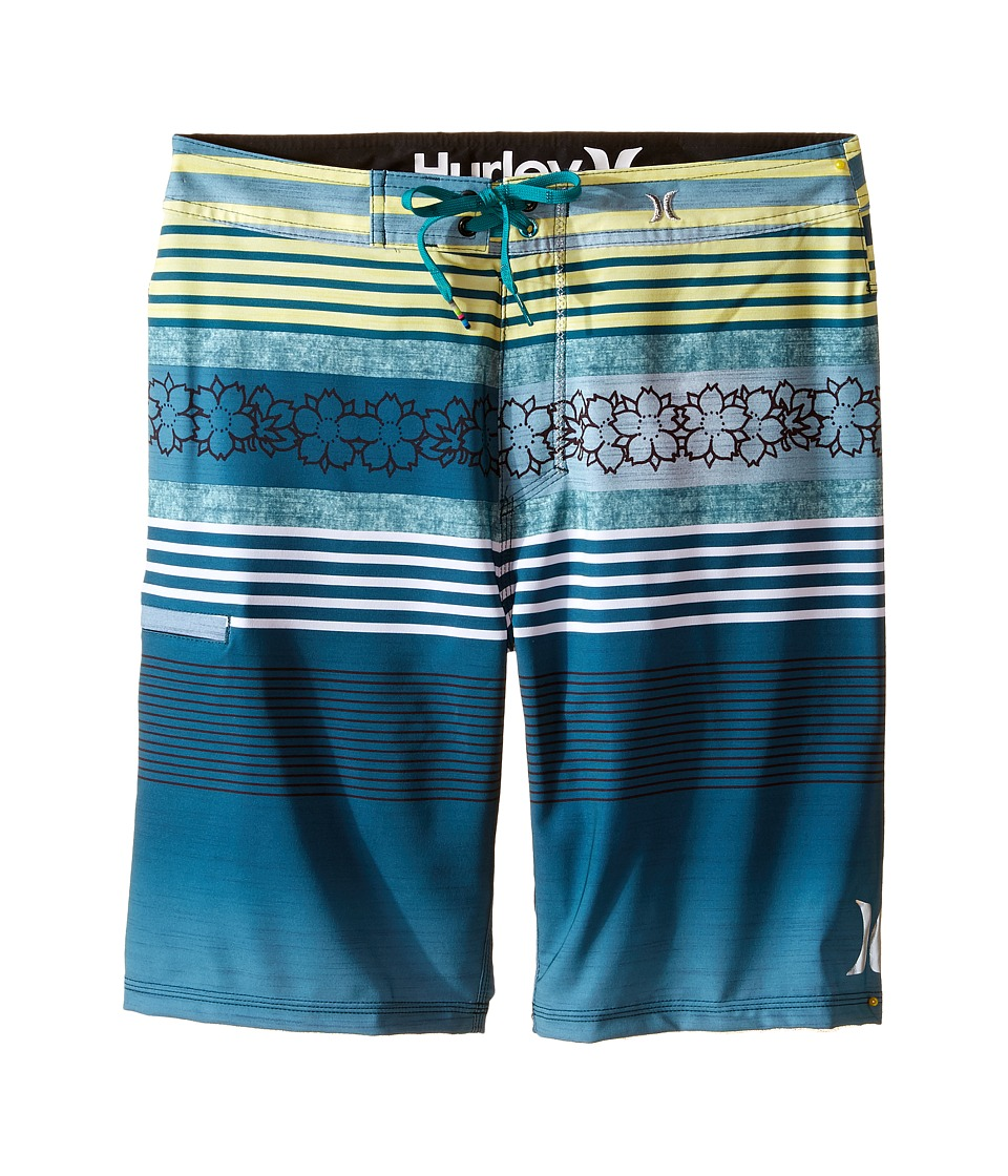 Hurley Kids - Phantom P30 Ortega Shorts (Big Kids) (Rio Teal) Boy's Shorts